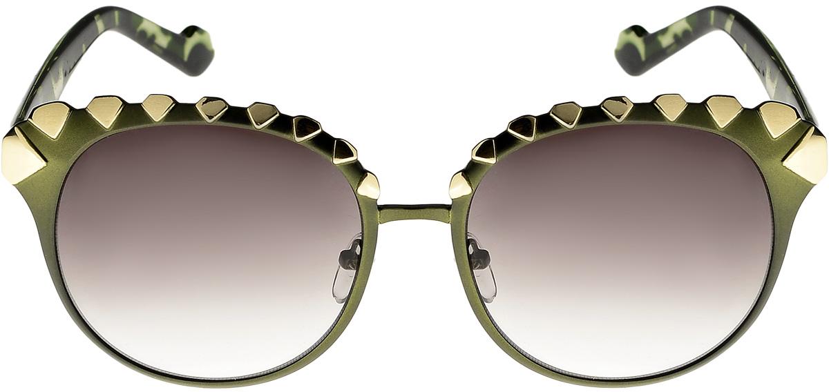 Очки солнцезащитные женские Vita Pelle, цвет: черный, зеленый. ОС412с5/17fОС412с5/17fОчки солнцезащитные Vita Pelle это знаменитое итальянское качество и традиционно изысканный дизайн.