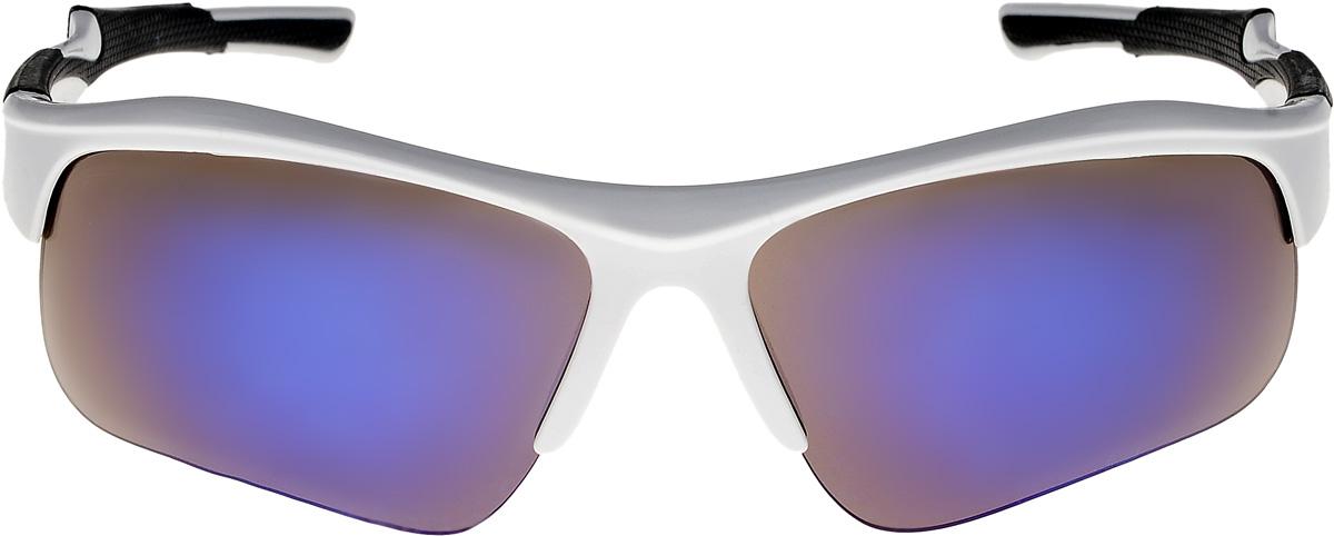 Очки солнцезащитные мужские Vita Pelle, цвет: белый, синий. ОС9006с04/17fОС9006с04/17fОчки солнцезащитные Vita Pelle это знаменитое итальянское качество и традиционно изысканный дизайн.