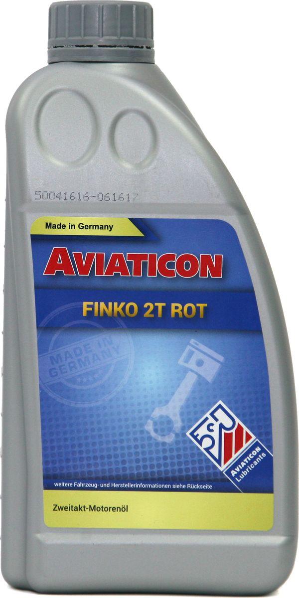 Масло для двухтактных двигателей Finke Aviaticon Finko 2T rot, 1 л50041616Минеральное масло для 2-тактных двигателей, Красного цвета