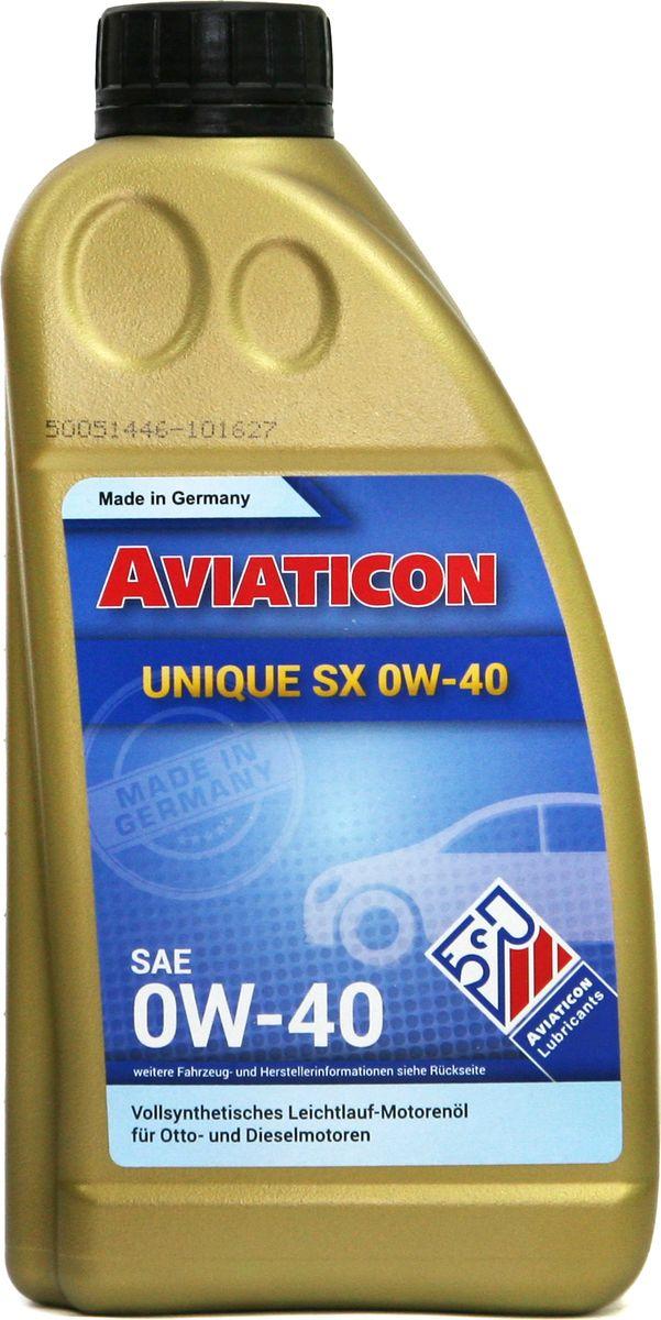 Масло моторное Finke Aviaticon Unique SX 0W-40, 1 л1 лПолностью синтетическое масло высшего класса для бензиновых и дизельных двигателей при эксплуатации в экстремальных условиях.