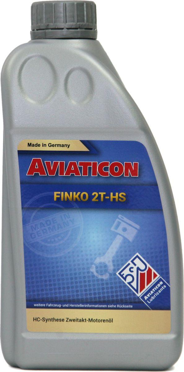Масло для двухтактных двигателей Finke Aviaticon Finko 2T-HS, 1 л50051646Полусинтетическое масло для 2-тактных двигателей. Используется в 2-тактных двигателях наземного и водного транспорта