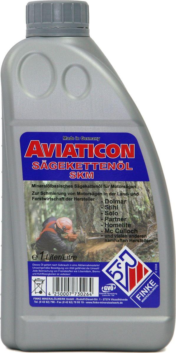 Масло цепное Finke Aviaticon SKM 100, 1 л72059016Масло на минеральной базе с отличной защитой от износа и внешних воздействий для высокопроизводительных мотопил
