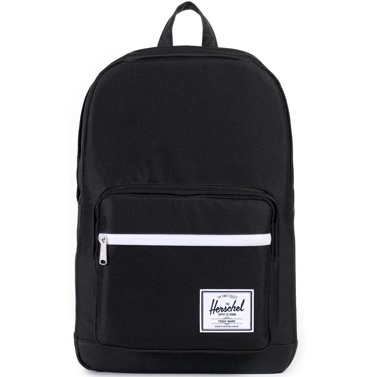 Рюкзак городской Herschel Pop Quiz (A/S), цвет: черный. 828432043330828432043330Рюкзак Herschel Pop Quiz ™ универсальный рюкзак для школы и работы с широким спектром карманов и органайзера.