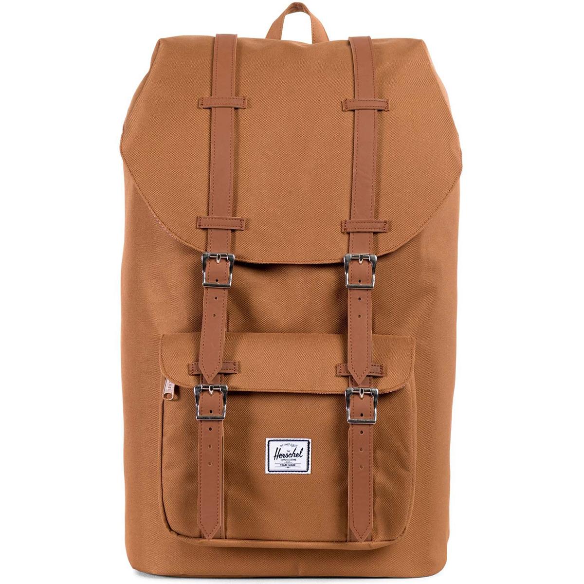 Рюкзак городской Herschel Little America (A/S), цвет: светло-коричневый. 828432082964828432082964Рюкзак Herschel Little America ™ одна из самых значимых моделей, соединяя классический альпинистский стиль с современной функциональностью. Для повседневного использования.