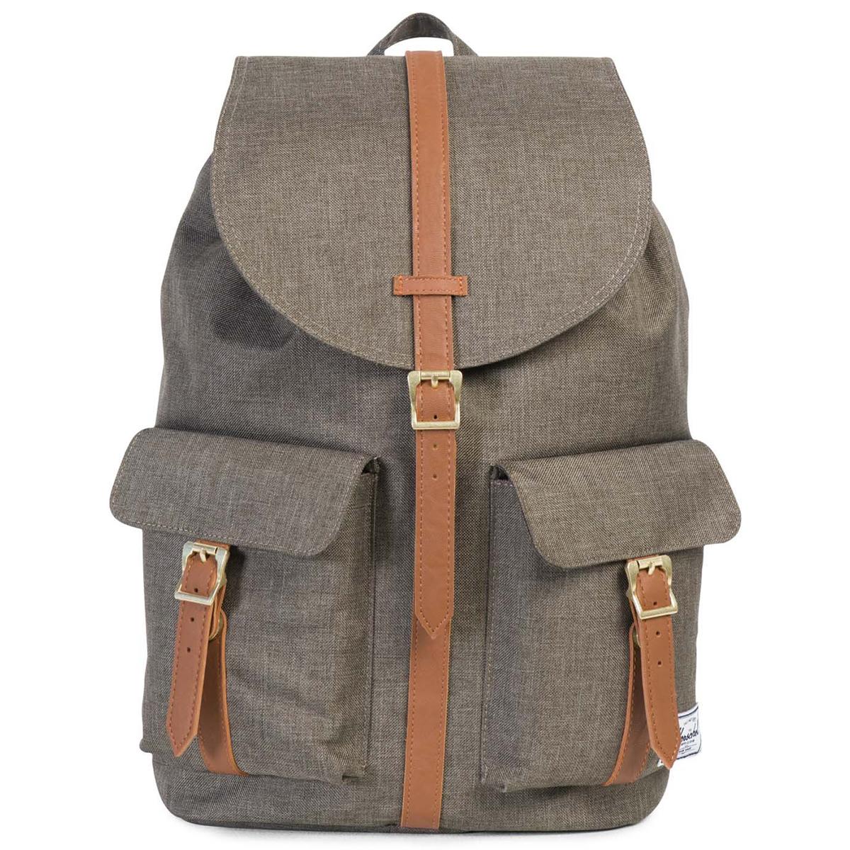 Рюкзак городской Herschel Dawson (A/S), цвет: хаки. 828432122608828432122608Рюкзак Herschel Dawson ™ функциональный и вместительный, создан для разведки. Удобные внешние карманы.