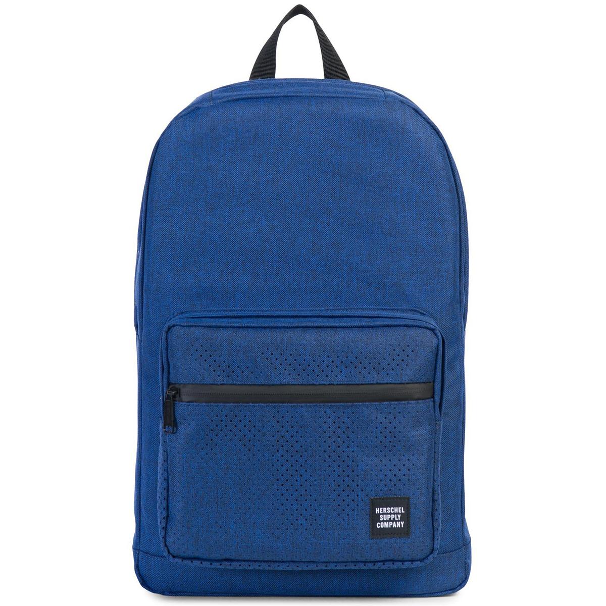 Рюкзак городской Herschel Pop Quiz (A/S), цвет: синий. 828432122929828432122929Рюкзак Herschel Pop Quiz ™ универсальный рюкзак для школы и работы с широким спектром карманов и органайзера.