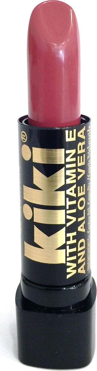 Kiki Помада с aloe & vit E 073 MAUVE, 4 гр10101073В состав классической губной помады KIKI введены группы витаминов и масел, которые защищают, разглаживают, смягчают губы и усиливают передачу глубины цвета. Благодаря особым молекулярным соединениям, помада легко наносится и ровно ложится на губы.