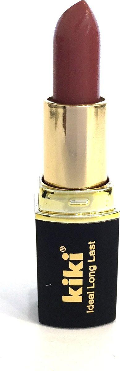 Kiki Помада для губ Ideal Long Last 317, 4 гр50030317Мягкая текстура и устойчивая консистенция помады KIKI IDEAL LONG LAST равномерно наносится на губы, не вызывает ощущение сухости. Питает и увлажняет губы, придает насыщенный стойкий цвет. Разнообразная палитра оттенков, в том числе матовая и с перламутровыми цветными эффектами.