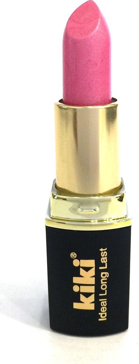 Kiki Помада для губ Ideal Long Last 332, 4 гр50030332Мягкая текстура и устойчивая консистенция помады KIKI IDEAL LONG LAST равномерно наносится на губы, не вызывает ощущение сухости. Питает и увлажняет губы, придает насыщенный стойкий цвет. Разнообразная палитра оттенков, в том числе матовая и с перламутровыми цветными эффектами.