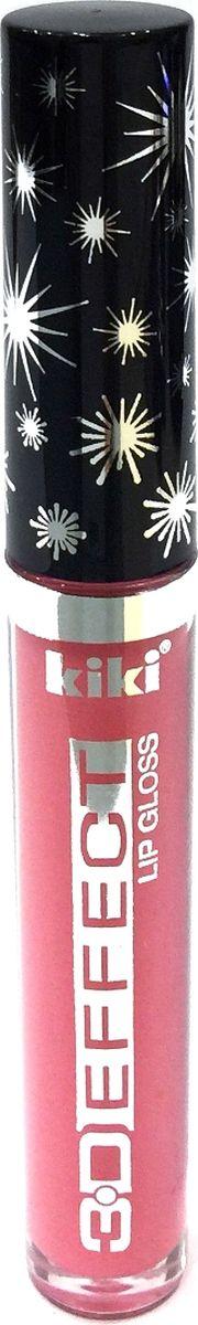 Kiki Жидкая помада -блеск для губ 3D Effect 901, 2,4 мл, 2,4 мл