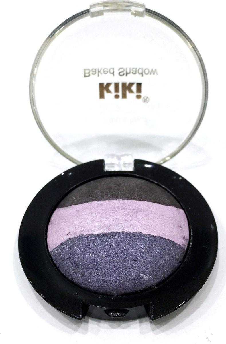 Kiki Тени для век запеченные 704, 2.2 гр10909704Тени KIKI Baked SHADOW - это сочетание эффектов и контрастов. Тени созданы для самых современных макияжей - от перламутрового цвета до насыщенных светом тонов. Текстура теней позволяет наносить их двумя способами: сухим аппликатором - цвет исключительно деликатный, сияющий и изысканный, и влажным аппликатором - цвет более интенсивный и ультра-перламутровый. Тени великолепно наносятся и долго держаться благодаря мягкой и шелковистой текстуре. Присутствие в текстуре теней жемчужных пигментов различного цвета обеспечивает создание естественного макияжа и неповторимую игру света.