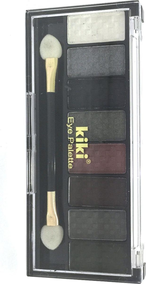 Kiki Тени для век Eye Palette 804, 6.88 гр10909804Восемь гармоничных оттенков в одном наборе позволяют создать самый разнообразный макияж глаз. Исключительно нежная и богатая формула теней KIKI EYE PALETTE позволяет с легкостью придать вашим векам устойчивый насыщенный оттенок с бесподобным блеском. Высокое содержание перламутра в тенях обеспечивает яркий блеск и сияние.