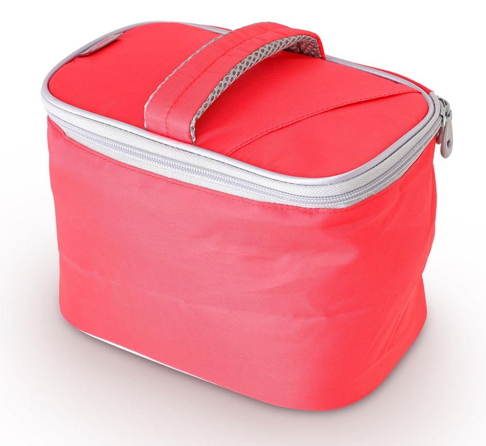 Термосумка Thermos Beauty Kit, цвет: красный, 6,5 л468802Способна вместить довольно большой объем кремов , мазей, медикаментов и других препаратов не предназначенных для хранения в тепле. По желанию, для усиления охлаждающего эффекта возможно применение замороженных аккумуляторов температуры THERMOS Gel Pack™.