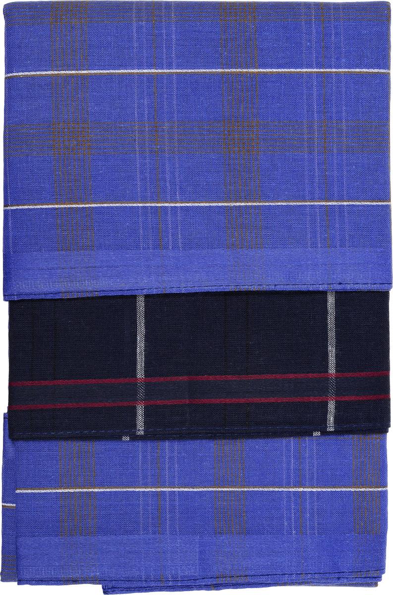 Платок носовой мужской Zlata Korunka, цвет: синий, черный, 6 шт. 45430-6-9. Размер 38 см х 38 см45430-6-9Оригинальный мужской носовой платок Zlata Korunka изготовлен из высококачественного натурального хлопка, благодаря чему приятен в использовании, хорошо стирается, не садится и отлично впитывает влагу. Практичный и изящный носовой платок будет незаменим в повседневной жизни любого современного человека. Такой платок послужит стильным аксессуаром и подчеркнет ваше превосходное чувство вкуса. В комплекте 6 платков.