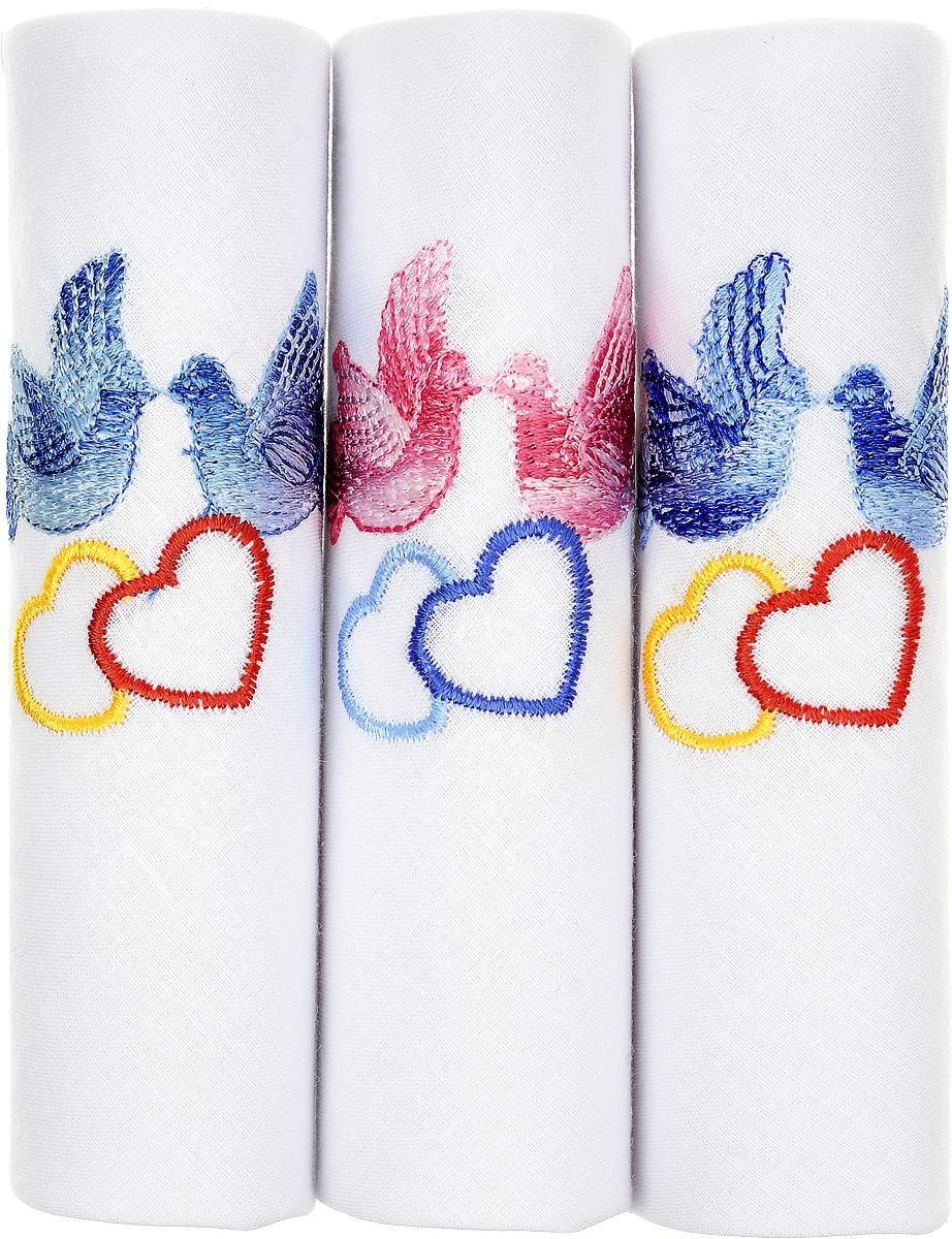 Платок носовой женский Zlata Korunka, цвет: белый, 3 шт. 90328-1. Размер 28 см х 28 см90328-1Небольшой женский носовой платок Zlata Korunka изготовлен из высококачественного натурального хлопка, благодаря чему приятен в использовании, хорошо стирается, не садится и отлично впитывает влагу. Практичный и изящный носовой платок будет незаменим в повседневной жизни любого современного человека. Такой платок послужит стильным аксессуаром и подчеркнет ваше превосходное чувство вкуса. В комплекте 3 платка.