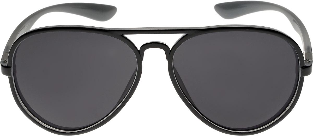 Очки солнцезащитные мужские Vittorio Richi, цвет: черный. ОС4037с121-464-5/17fОС4037с121-464-5/17fОчки солнцезащитные Vittorio Richi это знаменитое итальянское качество и традиционно изысканный дизайн.