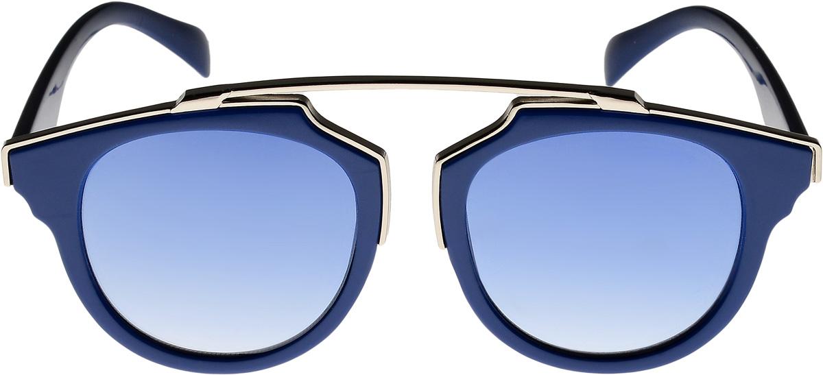 Очки солнцезащитные женские Vittorio Richi, цвет: синий. ОС9251с13/17fОС9251с13/17fОчки солнцезащитные Vittorio Richi это знаменитое итальянское качество и традиционно изысканный дизайн.