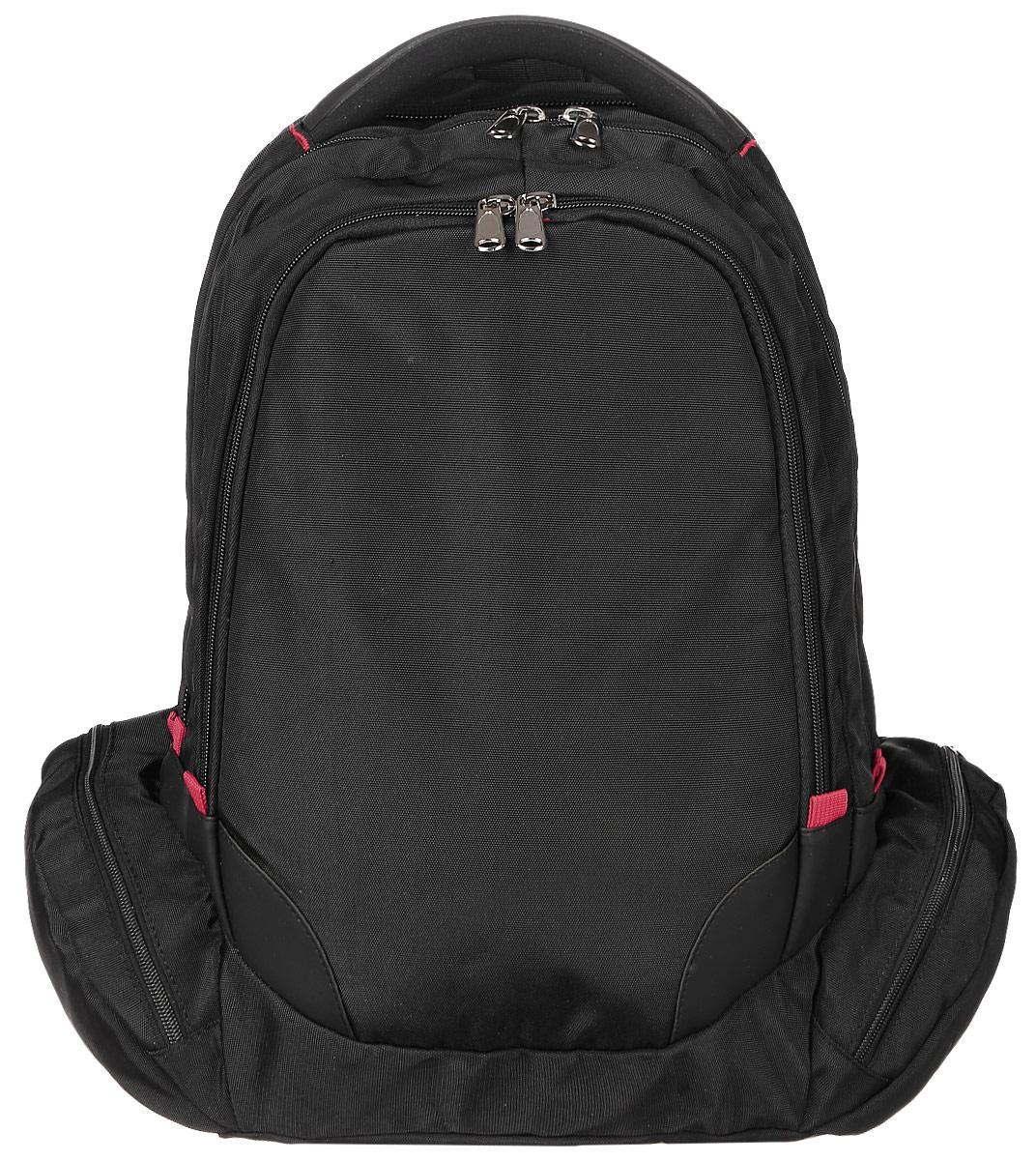 Рюкзак мужской Milana, цвет: черный. 161690-1-110161690-1-110