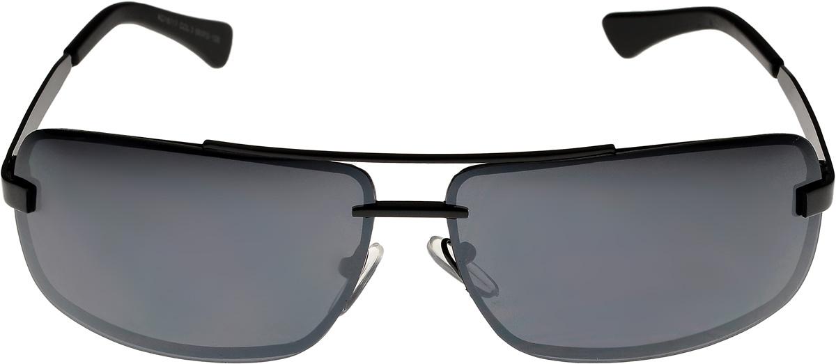 Очки солнцезащитные мужские Vittorio Richi, цвет: черный. ОС16117/17fОС16117/17fОчки солнцезащитные Vittorio Richi это знаменитое итальянское качество и традиционно изысканный дизайн.