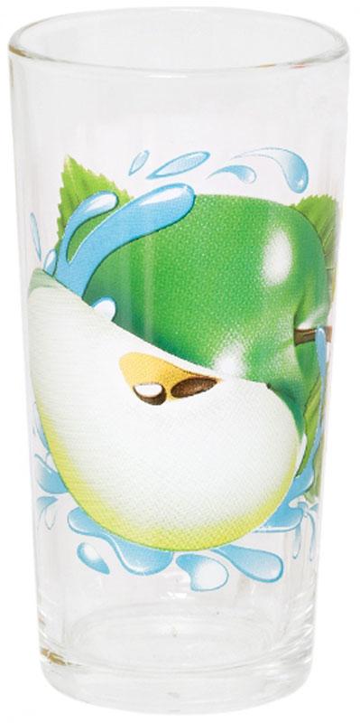 Стакан OSZ Ода. Яблоко зеленое, 230 мл05C1256-YZKСтакан ОДА ЯБЛОКО ЗЕЛЕНОЕ К 230мл высокий.Изготовлено из стекла.