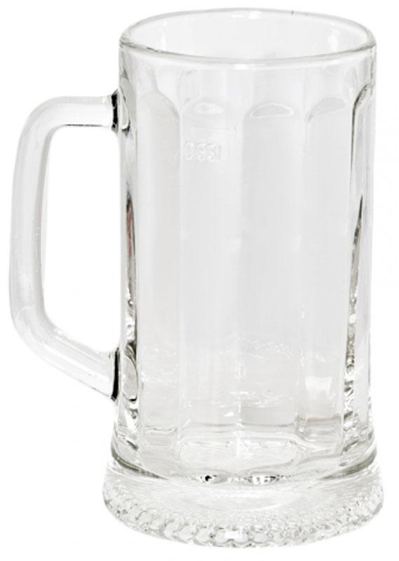 Кружка OSZ Ладья, 330 мл09C1486Кружка для пива ЛАДЬЯ 330мл.Изготовлено из стекла.