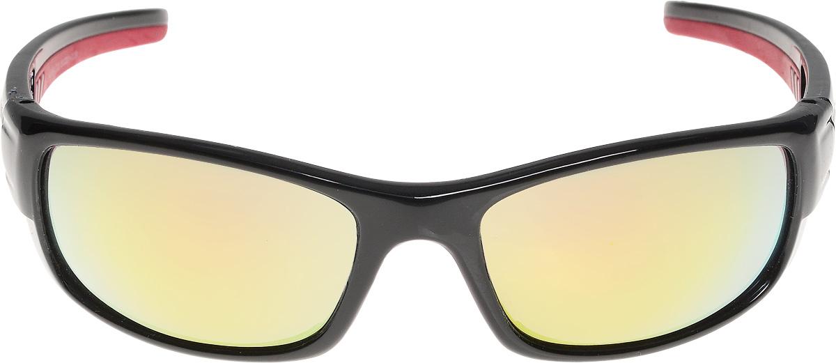 Очки солнцезащитные мужские Vita Pelle, цвет: черный, красный. ОС9009с3/17fОС9009с3/17fОчки солнцезащитные Vita Pelle это знаменитое итальянское качество и традиционно изысканный дизайн.