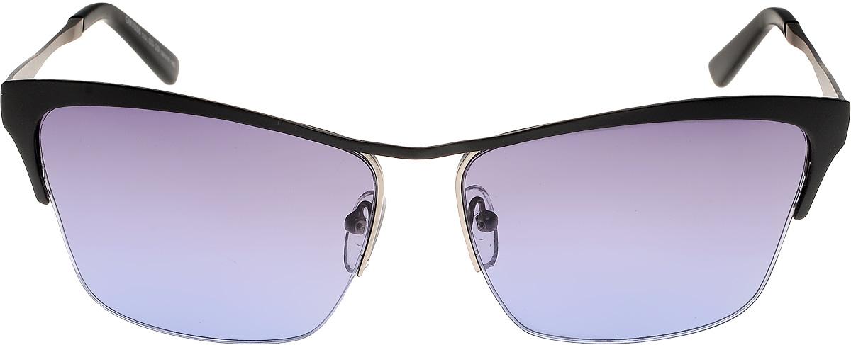 Очки солнцезащитные женские Vita Pelle, цвет: черный, голубой. ОС806с03-29/17fОС806с03-29/17fОчки солнцезащитные Vita Pelle это знаменитое итальянское качество и традиционно изысканный дизайн.