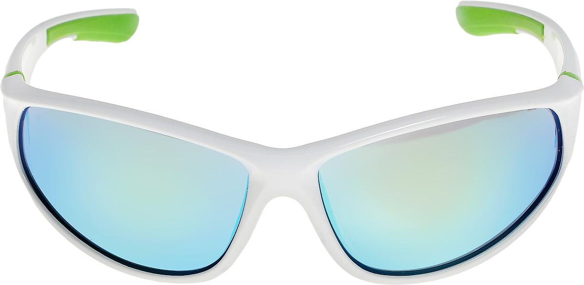 Очки солнцезащитные мужские Vita Pelle, цвет: белый, зеленый. ОС9002c05/17fОС9002c05/17fОчки солнцезащитные Vita Pelle это знаменитое итальянское качество и традиционно изысканный дизайн.