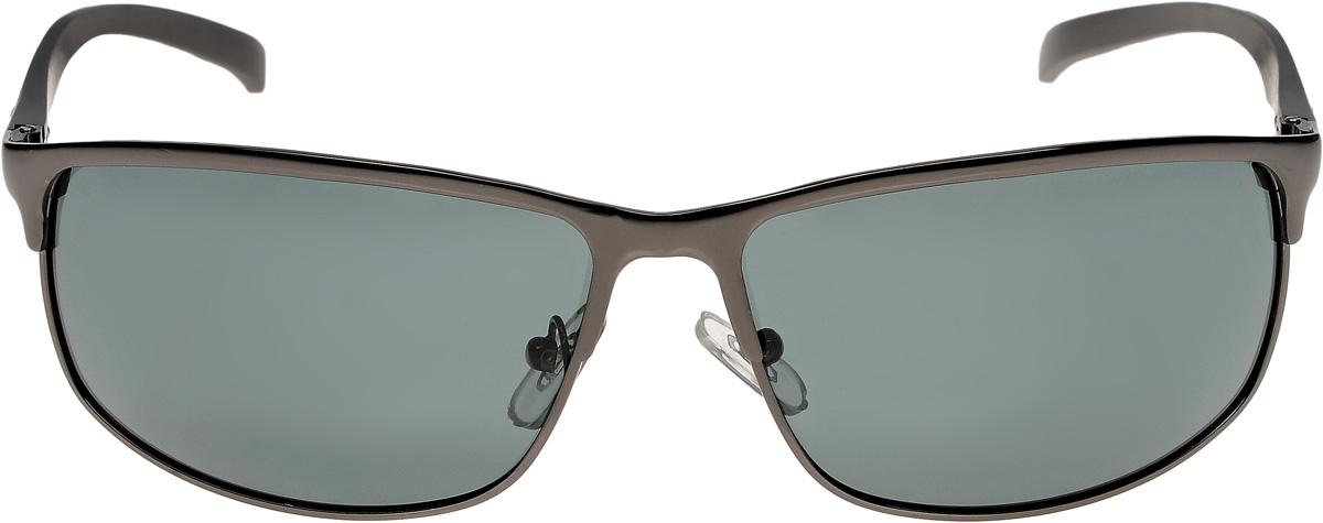 Очки солнцезащитные мужские Vittorio Richi, цвет: черный. ОС80058-0/17fОС80058-0/17fОчки солнцезащитные Vittorio Richi это знаменитое итальянское качество и традиционно изысканный дизайн.