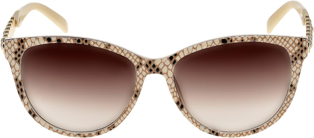 Очки солнцезащитные женские Vittorio Richi, цвет: коричневый. ОС1857с4/17fОС1857с4/17fОчки солнцезащитные Vittorio Richi это знаменитое итальянское качество и традиционно изысканный дизайн.