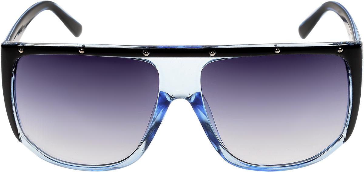 Очки солнцезащитные мужские Vittorio Richi, цвет: голубой. ОС4128c405-522-2/17fОС4128c405-522-2/17fОчки солнцезащитные Vittorio Richi это знаменитое итальянское качество и традиционно изысканный дизайн.