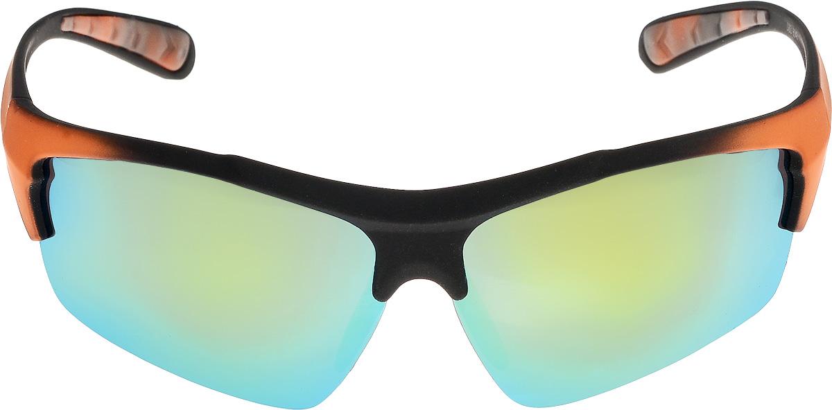 Очки солнцезащитные мужские Vita Pelle, цвет: оранжевый, зеленый. ОС6043/17fОС6043/17fОчки солнцезащитные Vita Pelle это знаменитое итальянское качество и традиционно изысканный дизайн.