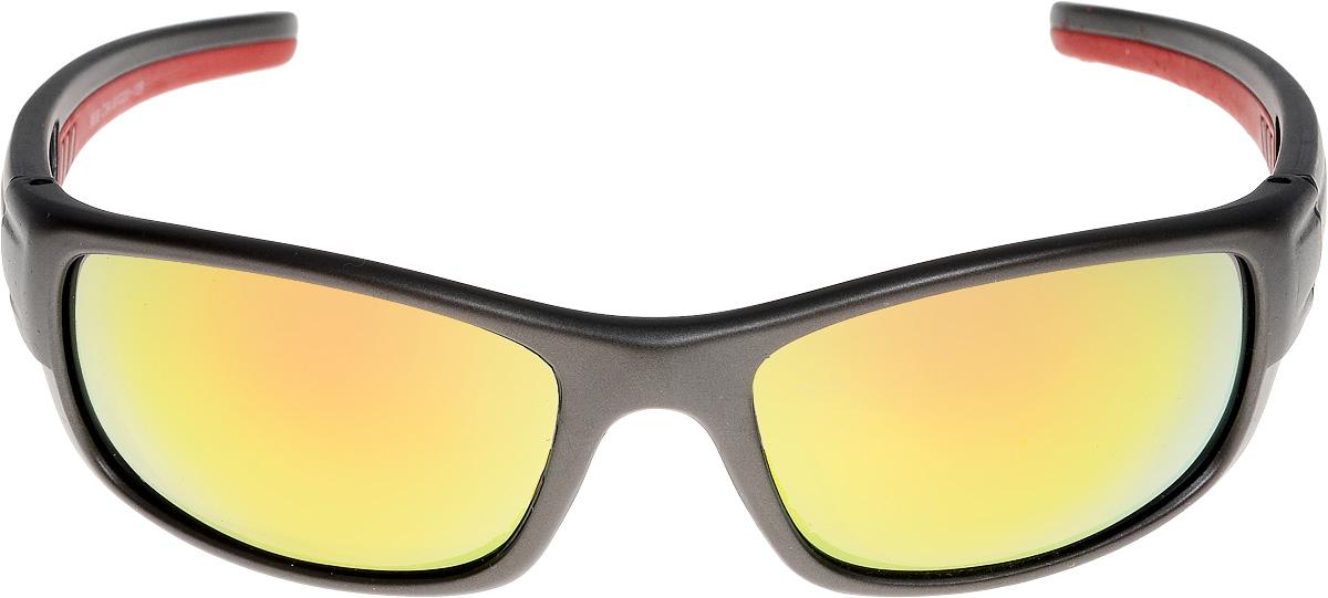 Очки солнцезащитные мужские Vita Pelle, цвет: черный, красный. ОС9009c4/17fОС9009c4/17fОчки солнцезащитные Vita Pelle это знаменитое итальянское качество и традиционно изысканный дизайн.