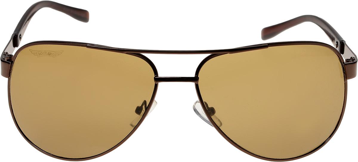 Очки солнцезащитные мужские Vittorio Richi, цвет: коричневый. ОС8237/17fОС8237/17fОчки солнцезащитные Vittorio Richi это знаменитое итальянское качество и традиционно изысканный дизайн.