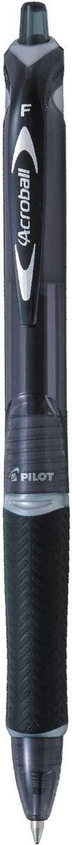 Pilot Ручка шариковая Acroball цвет корпуса черныйBPAB-15F-BАвтоматическая шариковая ручка нового поколения. Надежный многоразовый выдвижной механизм. Яркий глянцевый корпус ручки имеет полупрозрачную тонировку в цвет чернил. Для удобного захвата пальцами ручка оснащена текстурированным упором из гигроскопичной резины. Еще более плавное и мягкое письмо данной модели достигается за счет инновационных чернил, имеющих масляную основу повышенной вязкости. Идеальное сочетание стиля и комфорта.