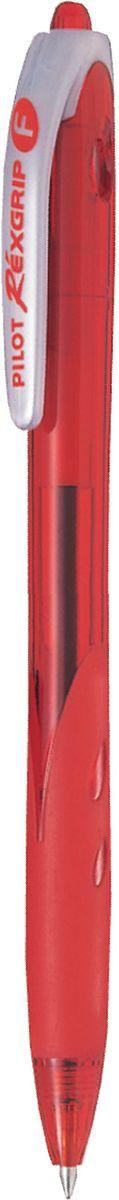 Pilot Ручка шариковая Rexgrip цвет чернил красный 0,7 ммBPRG-10R-F-RУльтрасовременный обтекаемый прорезиненный цветной корпус. Диаметр шарика - 0,7 мм, Толщина линии - 0,32 мм. Цвет чернил - красный