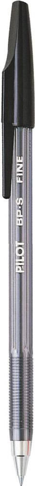 Pilot Ручка шариковая BP-S цвет черныйBP-SF-BПрозрачный тонированный корпус с рифлением в зоне захвата. Металлический наконечник. Чернила на масляной основе. Цвет корпуса и колпачка соответствует цвету чернил. Толщина линии - 0,32 мм. Диаметр шарика - 0,7 мм. Цвет чернил - черный