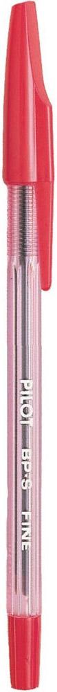Pilot Ручка шариковая BP-S цвет чернил красныйBP-SF-RШариковая ручка со сменным стержнем, выполненная в классическом дизайне. Чернила на масляной основе. Корпус ручки тонирован в цвет чернил. Ручка гарантирует надежное и легкое письмо.