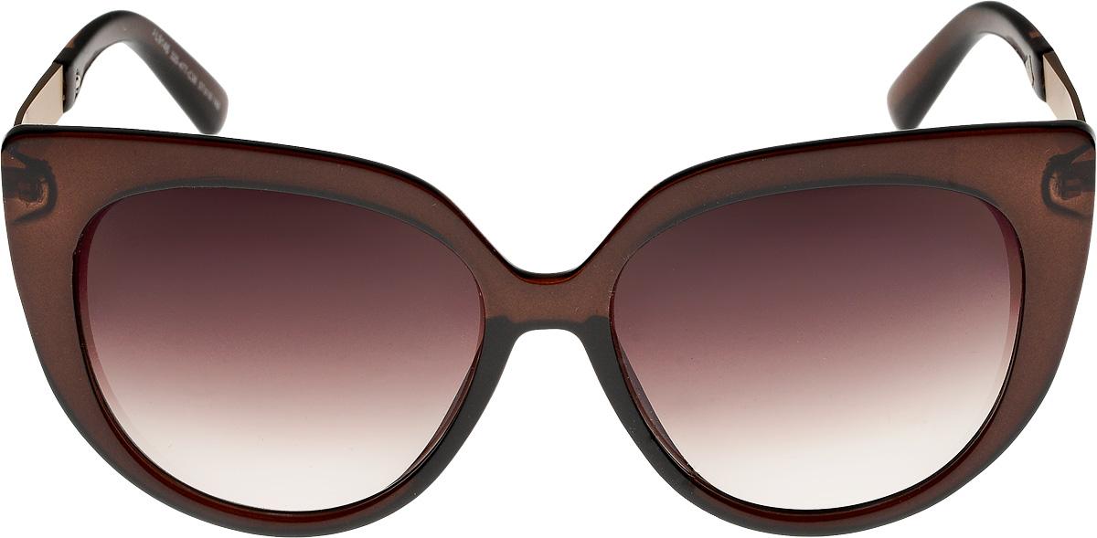 Очки солнцезащитные женские Vita Pelle, цвет: коричневый. ОС9146с320-477-36/17fОС9146с320-477-36/17fОчки солнцезащитные Vita Pelle это знаменитое итальянское качество и традиционно изысканный дизайн.