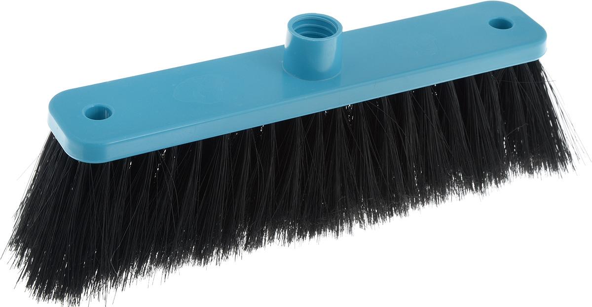Щетка для пола Svip Арианна, цвет: бирюзовый, черный, 25,5 х 5 х 10 смSV3055БРЗЩетка для пола Svip Арианна изготовлена из пластика. Ворс щетки распушен, благодаря чему еще более эффективно притягивает пыль и мусор. Может использоваться как в домашних, так и промышленных целях. Щетка долговечна и устойчива к погодному воздействию. Универсальная резьба подходит ко всем видам ручек. Щетка станет незаменимым помощником по хозяйству. Размер щетки: 25,5 х 5 х 10 см. Длина ворса: 7 см. Диаметр резьбы: 2,1 см.