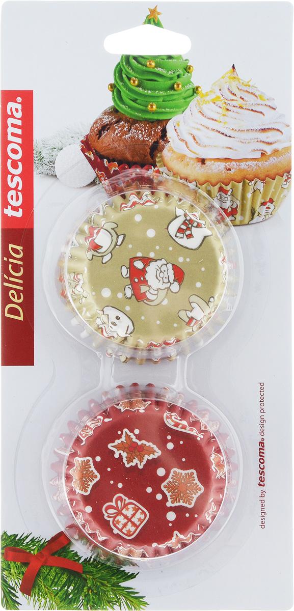 Форма для выпечки Tescoma Delicia. Корзинка. Рождественские мотивы, диаметр 6 см, 60 шт неля гульчук король солнце