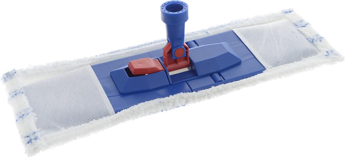 Насадка на швабру Svip Евро, 44 х 15 смSV3878-10РSНасадка на швабру Svip Евро предназначена для влажной уборки полов. Идеально подходит для уборки больших поверхностей. Насадка великолепно собирает пыль и грязь, впитывает влагу, не оставляет разводов. К швабре подходят стандартные черенки любого размера. Размер насадки: 44 х 15 см. Диаметр отверстия для черенка: 2,3 см.