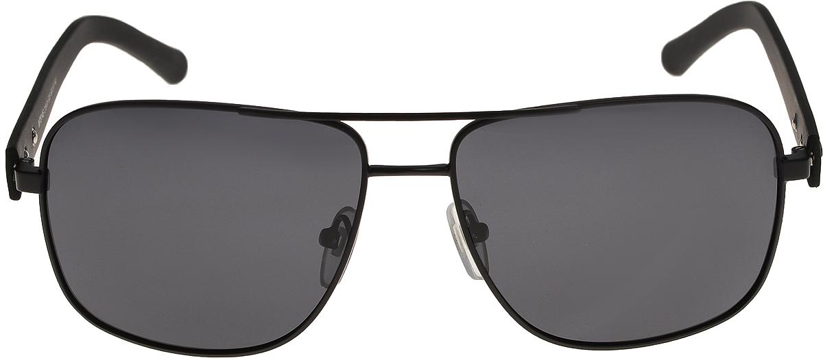 Очки солнцезащитные мужские Vittorio Richi, цвет: черный. ОС8146с18-91-F26/17fОС8146с18-91-F26/17fОчки солнцезащитные Vittorio Richi это знаменитое итальянское качество и традиционно изысканный дизайн.