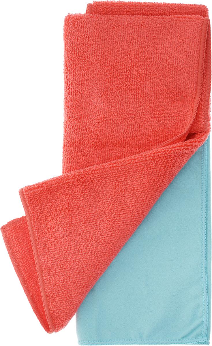 Салфетка чистящая Sapfire Cleaning Сloth & Suede, цвет: коралловый, голубой, 35 х 40 см, 2 шт3069-SFM_коралловый, голубойБлагодаря своей уникальной ворсовой структуре, салфетки Sapfire Cleaning Сloth прекрасно подходят для мытья и полировки автомобиля. Материал салфеток: микрофибра (85% полиэстер и 15% полиамид), обладает уникальной способностью быстро впитывать большой объем жидкости. Клиновидные микроскопические волокна захватывают и легко удерживают частички пыли, жировой и никотиновый налет, микроорганизмы, в том числе болезнетворные и вызывающие аллергию. Протертая поверхность становится идеально чистой, сухой, блестящей, без разводов и ворсинок. Допускается машинная и ручная стирка слабым моющим раствором в теплой воде. Отбеливание и глажка запрещены. Размер салфеток: 35 х 40 см.
