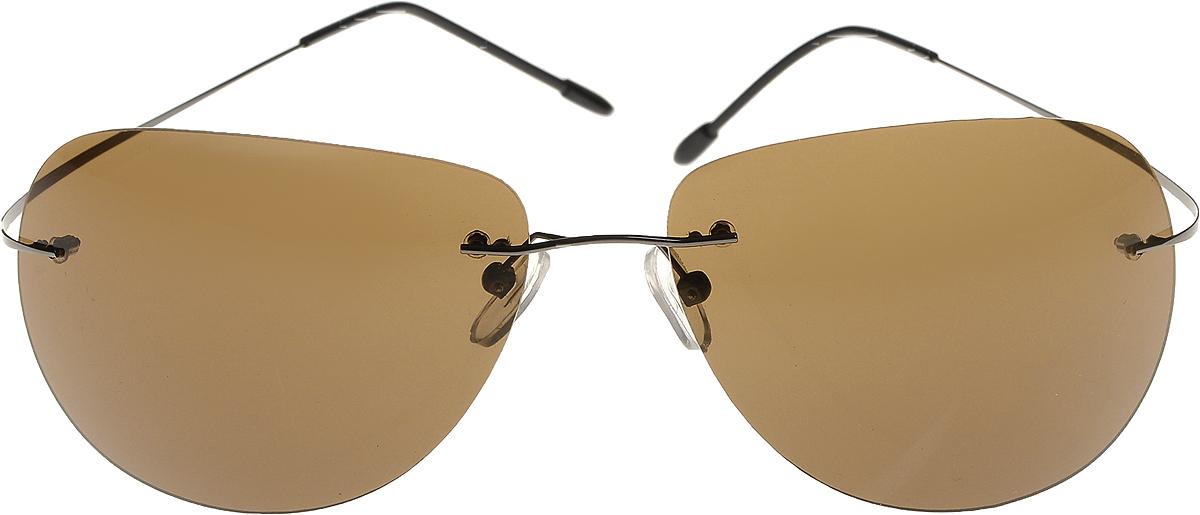 Очки солнцезащитные мужские Vittorio Richi, цвет: коричневый. ОСVP18с01/17fОСVP18с01/17fОчки солнцезащитные Vittorio Richi это знаменитое итальянское качество и традиционно изысканный дизайн.