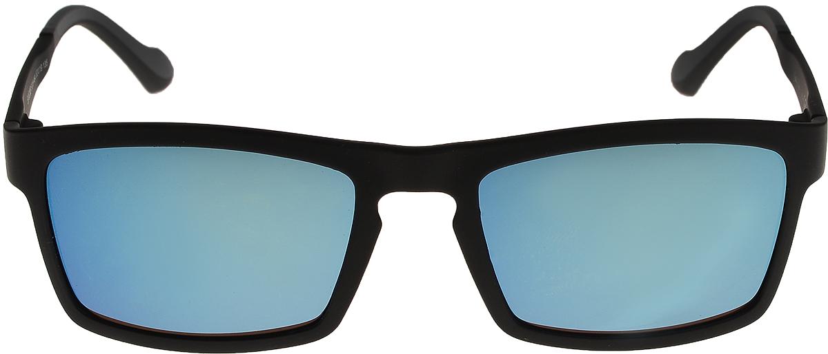 Очки солнцезащитные мужские Vittorio Richi, цвет: черный, синий. ОС528c019-464/17fОС528c019-464/17fОчки солнцезащитные Vittorio Richi это знаменитое итальянское качество и традиционно изысканный дизайн.