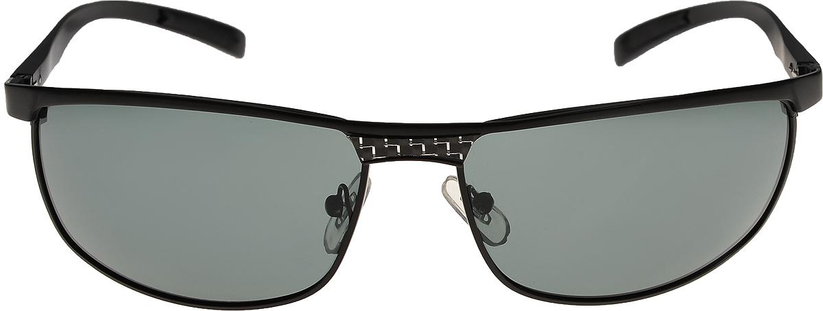 Очки солнцезащитные мужские Vittorio Richi, цвет: черный. ОС80050-8/17fОС80050-8/17fОчки солнцезащитные Vittorio Richi это знаменитое итальянское качество и традиционно изысканный дизайн.