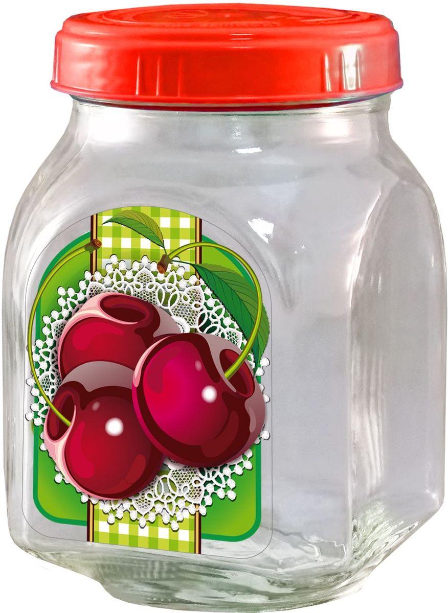 Банка для хранения варенья Квестор Вишня, c крышкой, 800 мл. 626-020626-020Банка из бесцветного стекла для консервированной пищевой продукции. В том числе для сыпучих пищевых продуктов.