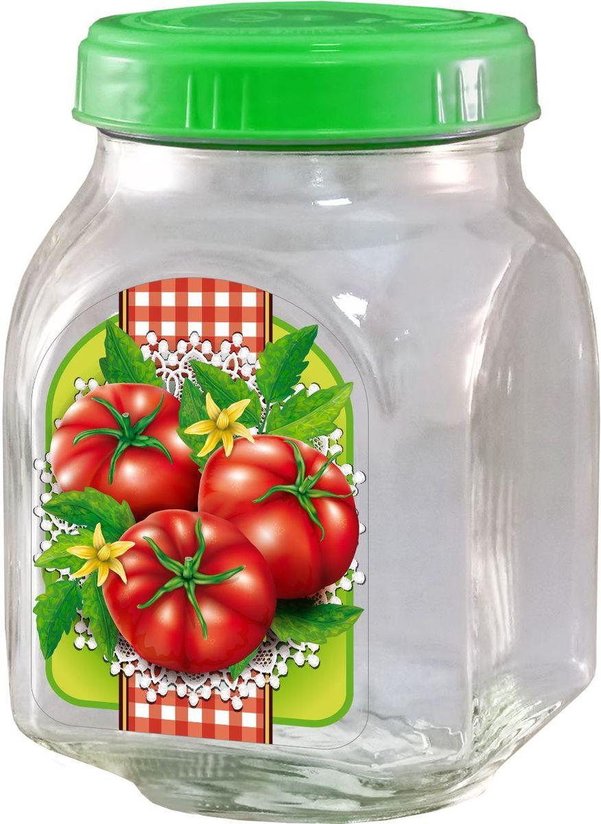 Банка для хранения Квестор, c крышкой, 800 мл. 626-030626-030Банка из бесцветного стекла для консервированной пищевой продукции. В том числе для сыпучих пищевых продуктов.