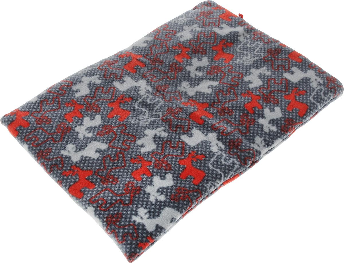 Лежак-коврик для животных Zoobaloo Олени, 50 х 40 см1125Великолепный флисовый лежак-коврик Zoobaloo - это отличный аксессуар для вашего питомца, на котором можно спать, играться и снова, приятно устав, заснуть. Он идеально подходит для полов с любым покрытием. Изделие поддерживает температурный баланс вашего питомца в любое время года. Наполнитель выполнен из синтепона.